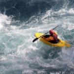 Whitewater Boat Kayaking