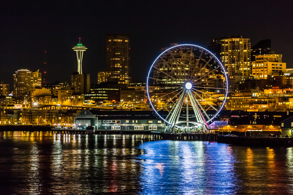 seattle great wheel, Unique things to do in Seattle