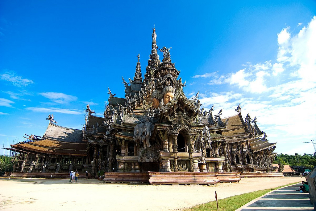 Sanctuary of Truth - things to do in Pattaya
