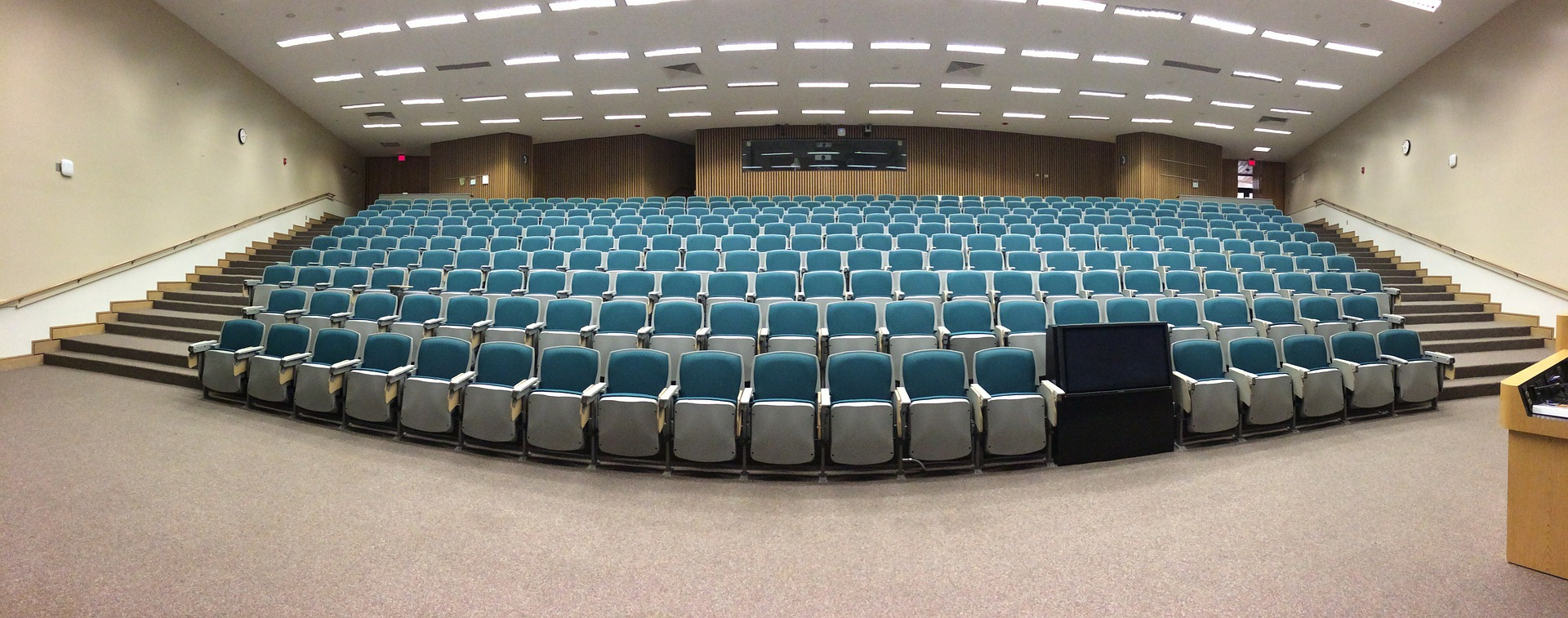 Auditorium for various activities-Facilities provided by PIA