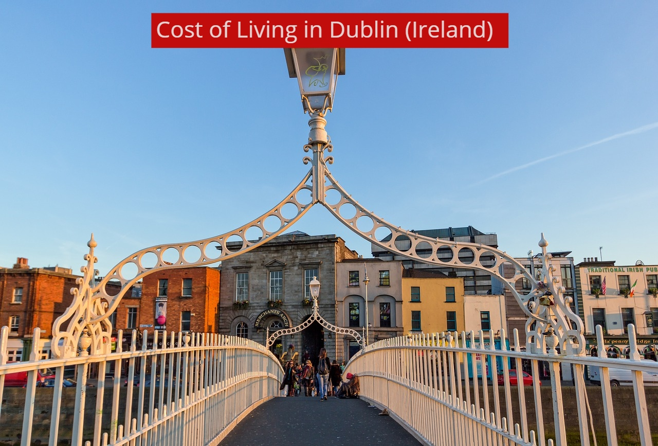 COST OF LIVING IN DUBLIN-UTTD