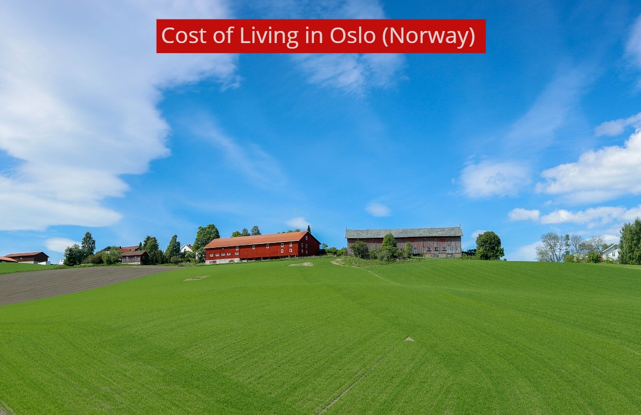 COST OF LIVING IN OSLO-UTTD