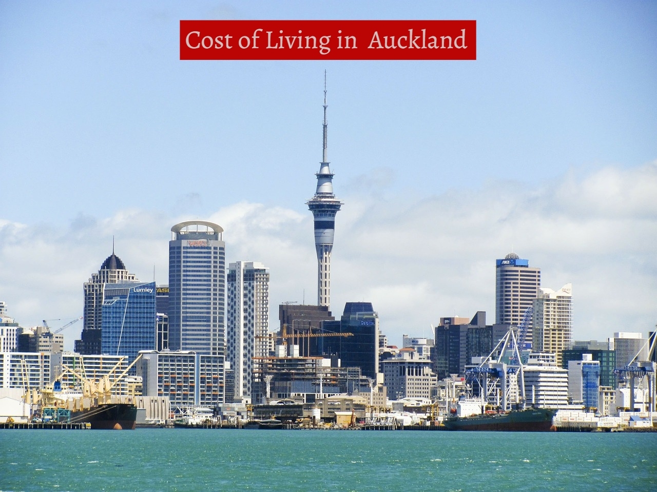 Cost of Living in Auckland-UTTD