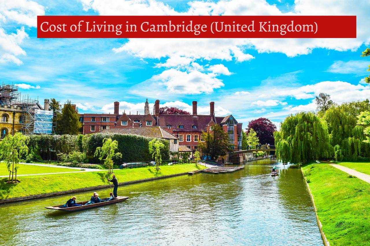 Cost of Living in Cambridge (United Kingdom)