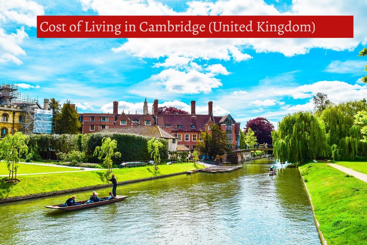 Cost of Living in Cambridge (United Kingdom)