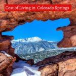 Cost of Living in Colorado Springs-UTTD