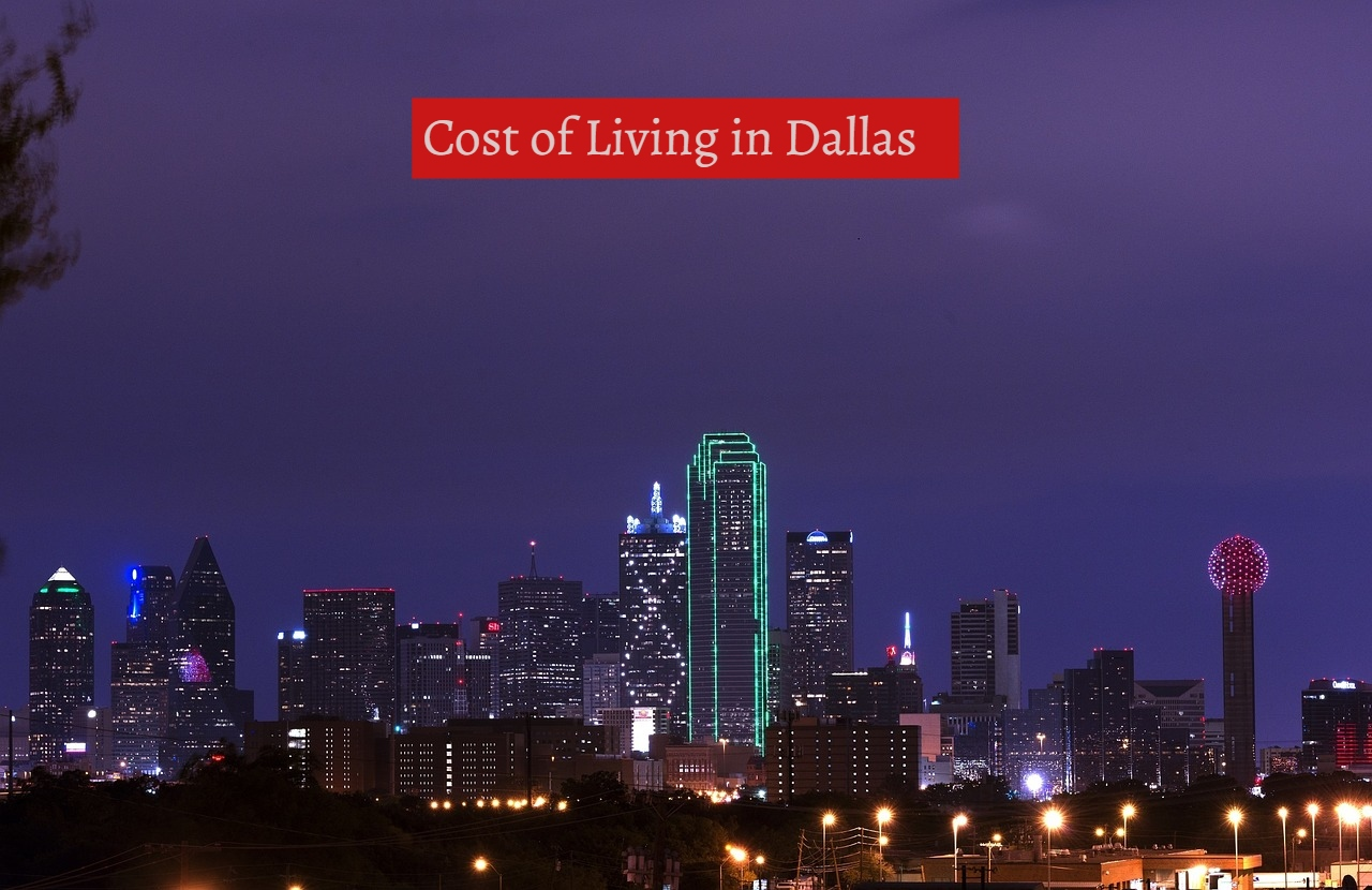 Cost of Living in Dallas-UTTD