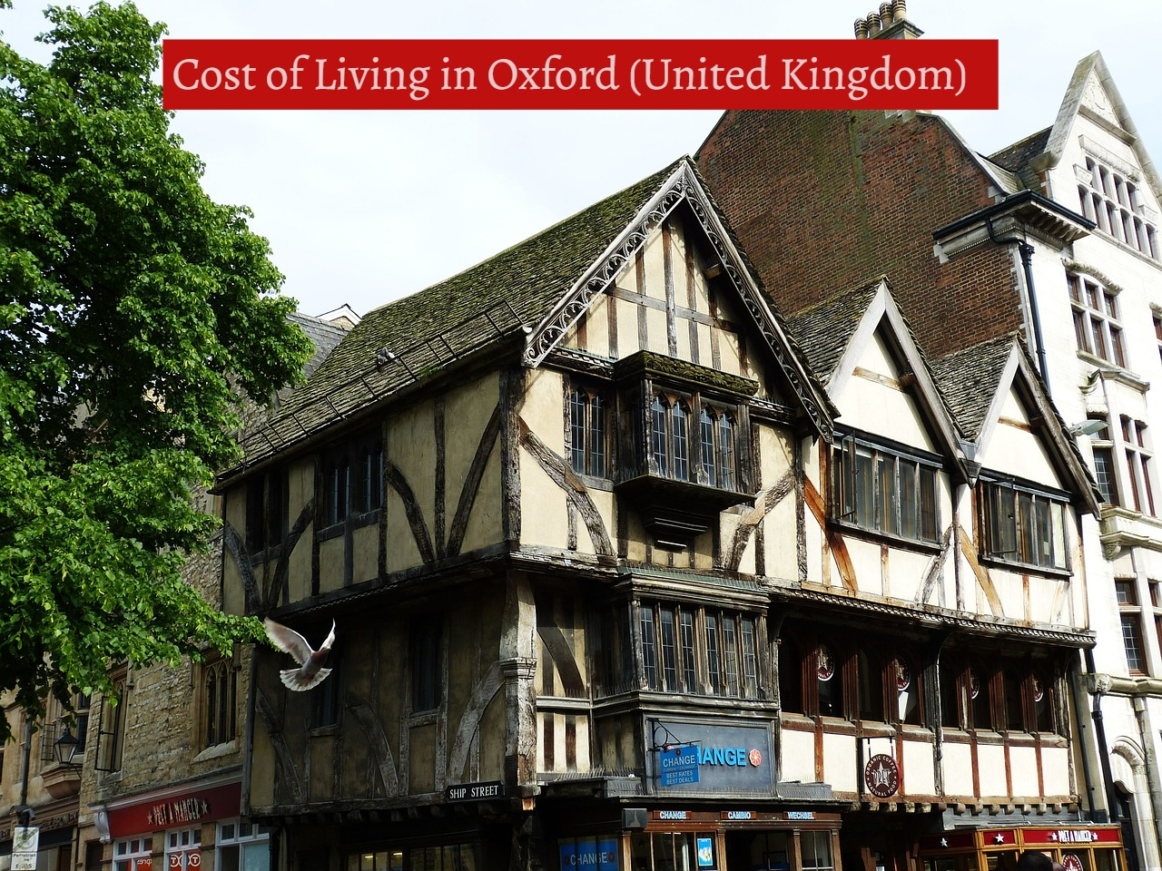 Cost of Living in Oxford (United Kingdom)-UTTD