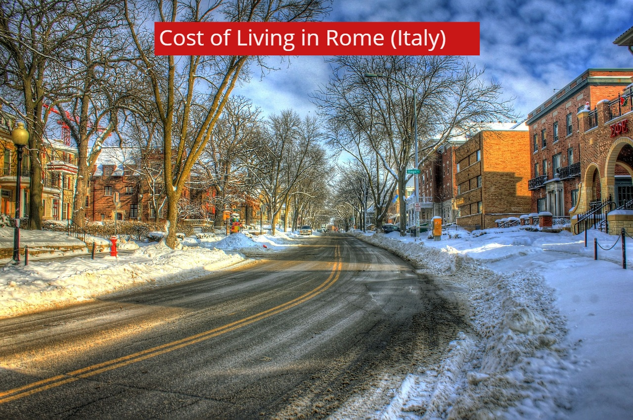 Cost of Living in Rome (Italy)-vv