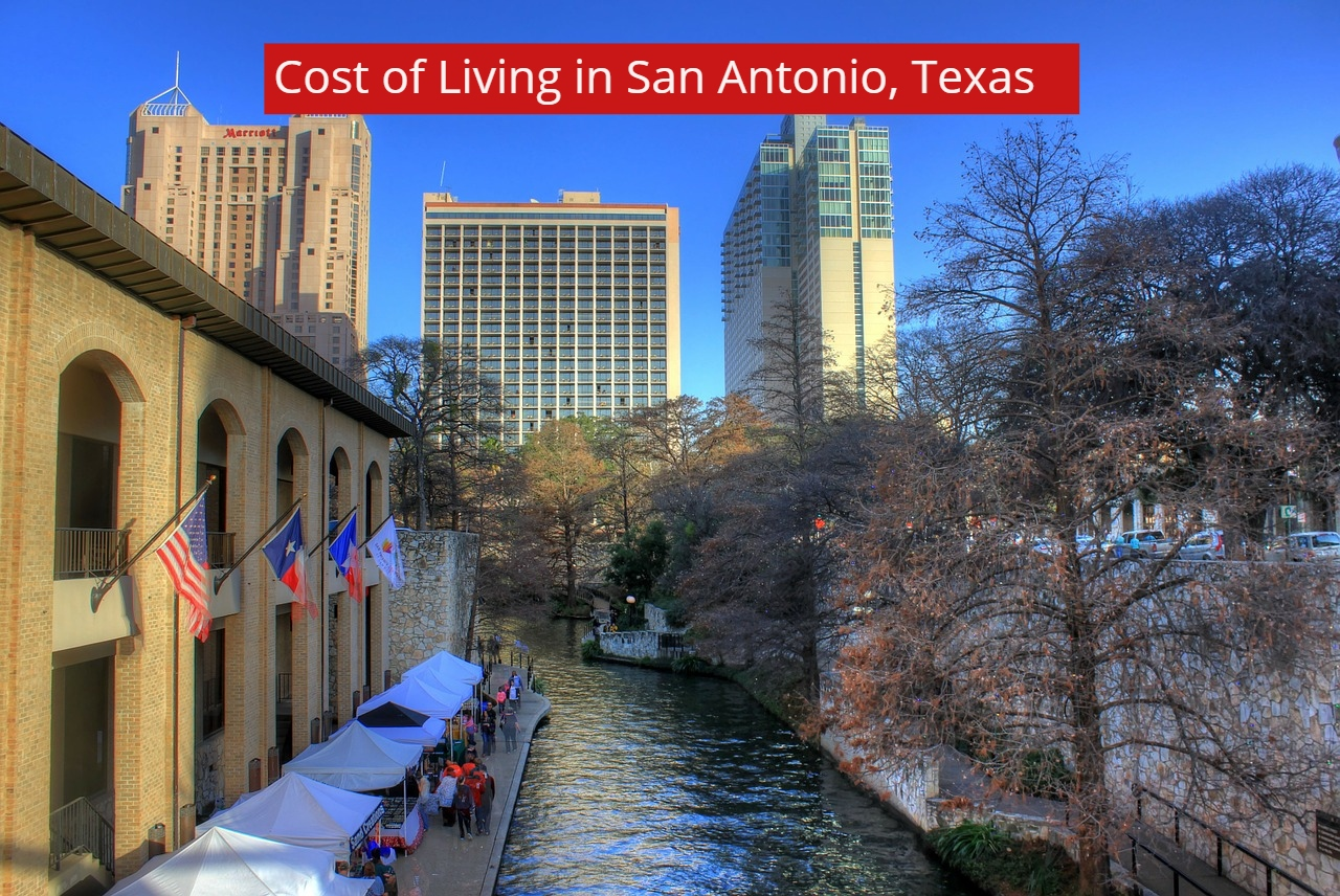 Cost of Living in San Antonio, Texas-VV