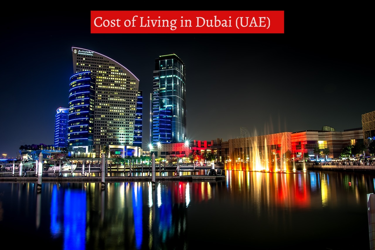 Cost of living in Dubai-UTTD