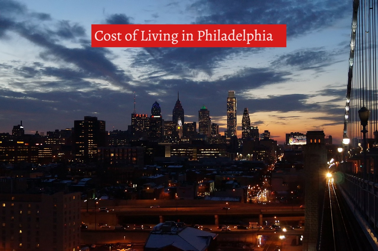 Cost of living in philadelphia -UTTD